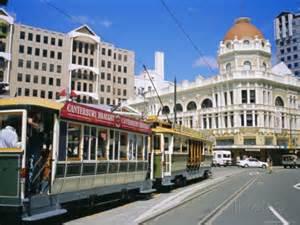 Downtown Christchurch, South Island New Zealand
