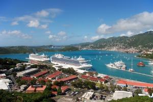 St-Thomas-Charlotte-Amalie-Cruise-Ships